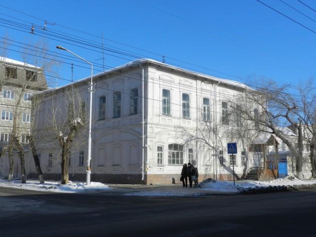 Дом городского головы Ф.В. Шветова