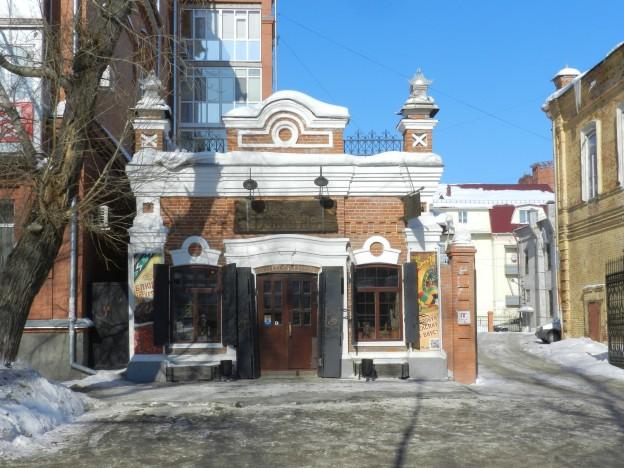 Торговая лавка купца И.П. Колпакова