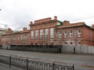 Здание Александровской женской гимназии (Куйбышева, 55)