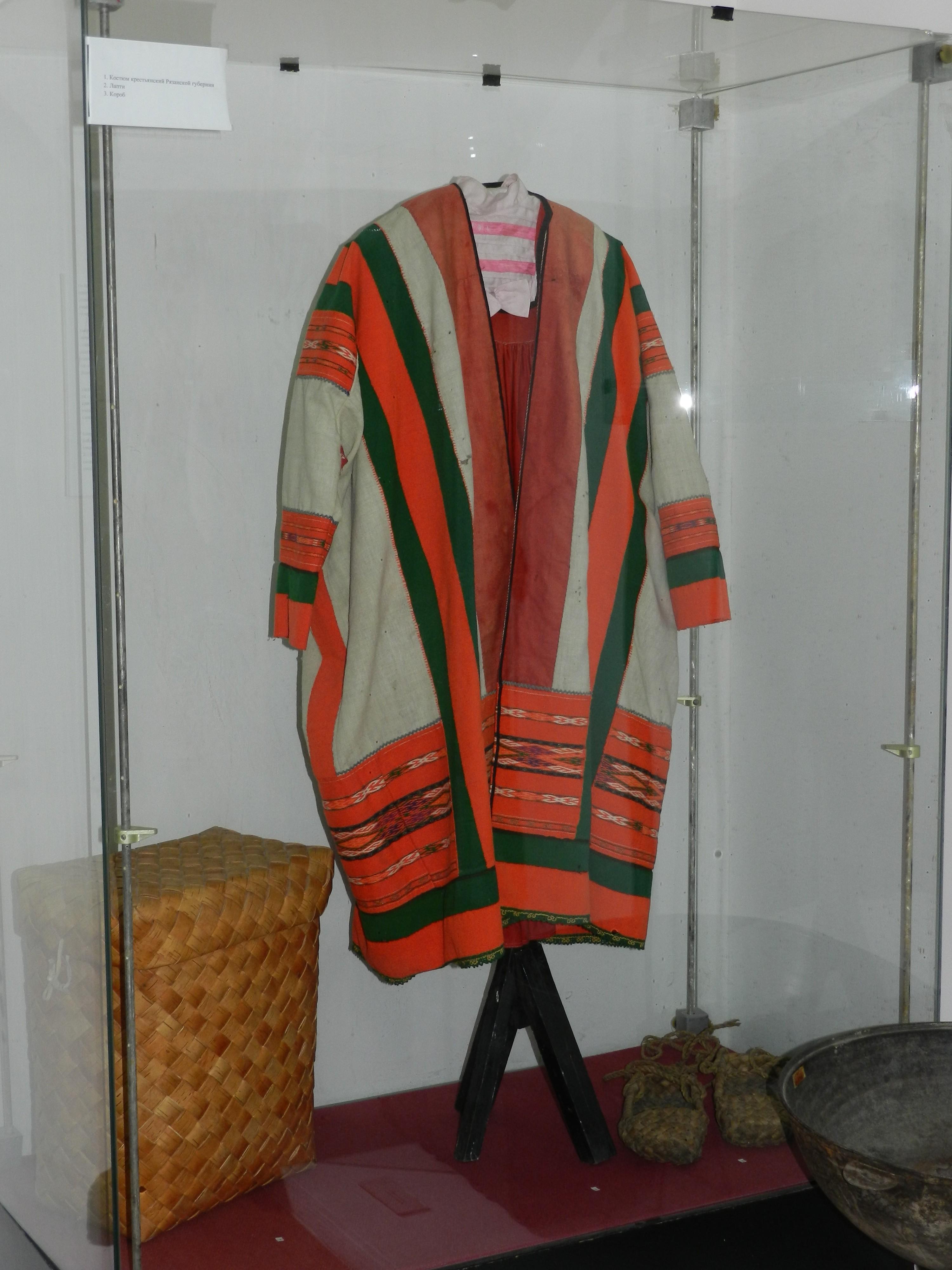 Костюм крестьянки рязанской губернии