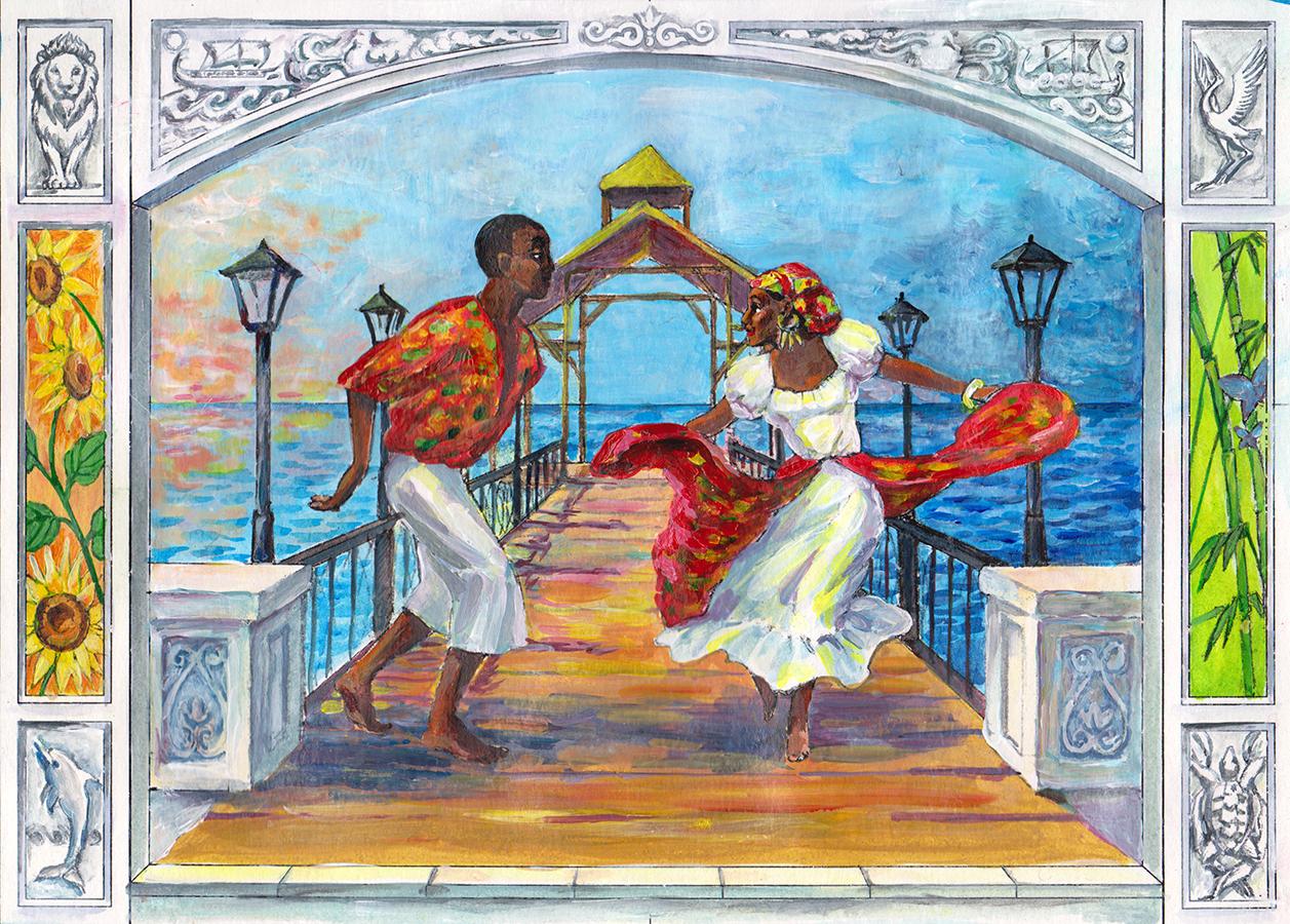Bèlè Dance