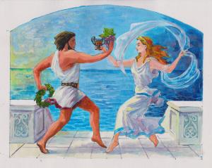 Древние греки. Танец