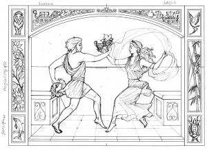 Тема - танец и древние греки.