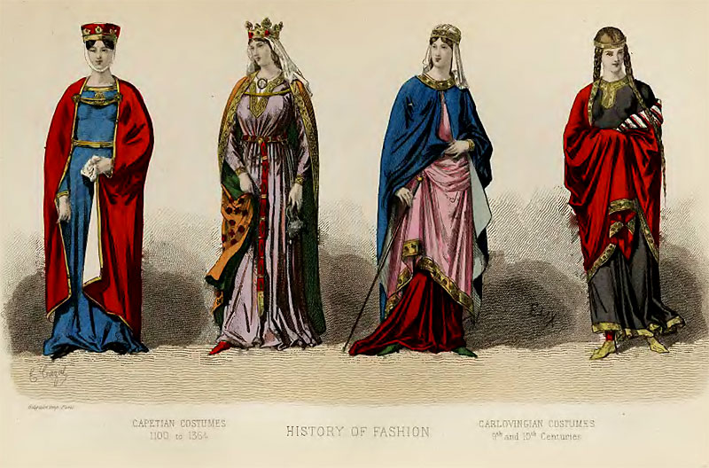 The History of Fashion in France.