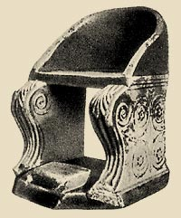 armchair from the marble
