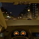 Вождение ночью, иномарка. В дороге